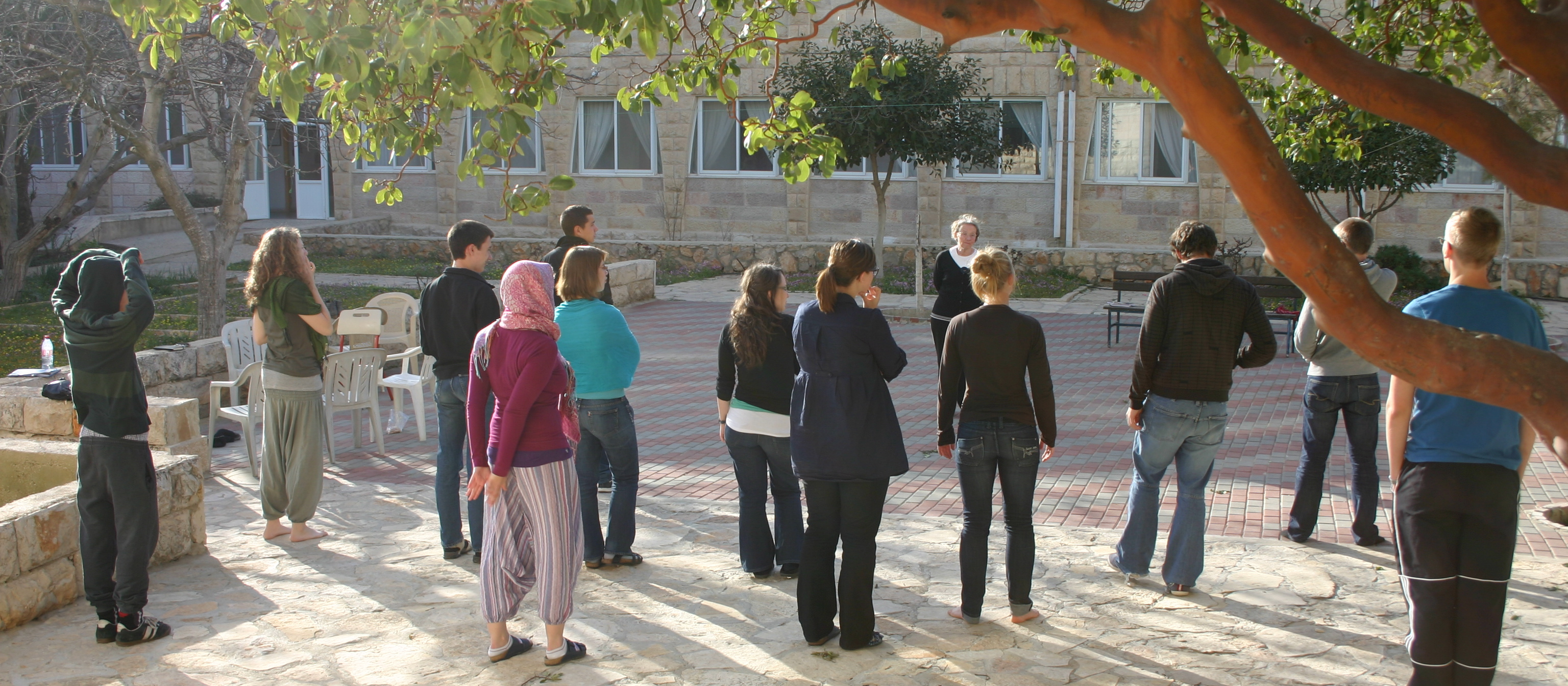 Mid term seminar 2011 in the Westbank